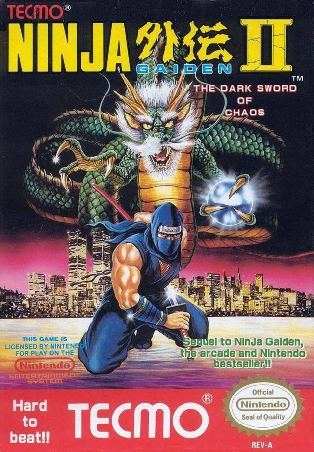 Neshq Games Database Ninja Gaiden Ii The Dark Sword Of Chaos
