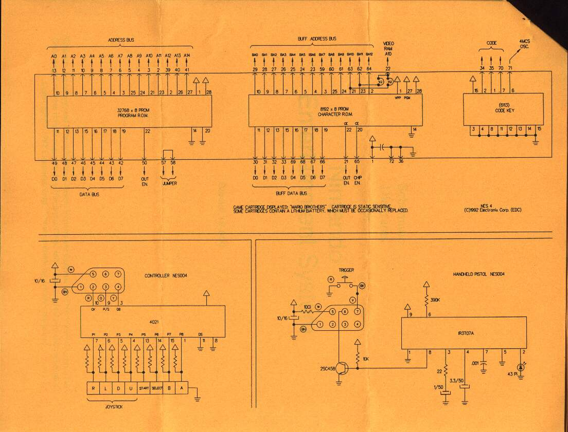 Nintendo Nes Wiring Schematic Bookmark About Diagram Entertainment System Data Rh 12 10 8 Reisen Fuer Meister De